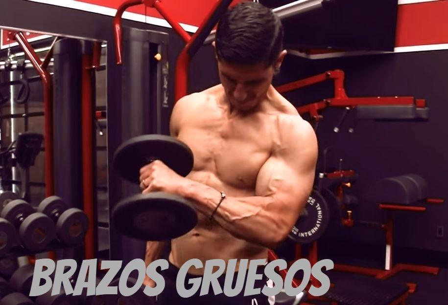 Haz estos dos ejercicios para obtener unos brazos mas gruesos