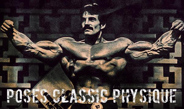 Poses mandatorias de la categoría classic physique