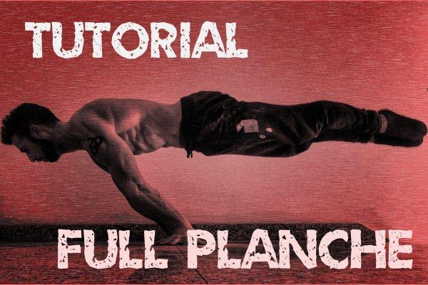 Tutorial completo de full planche y straddle planche