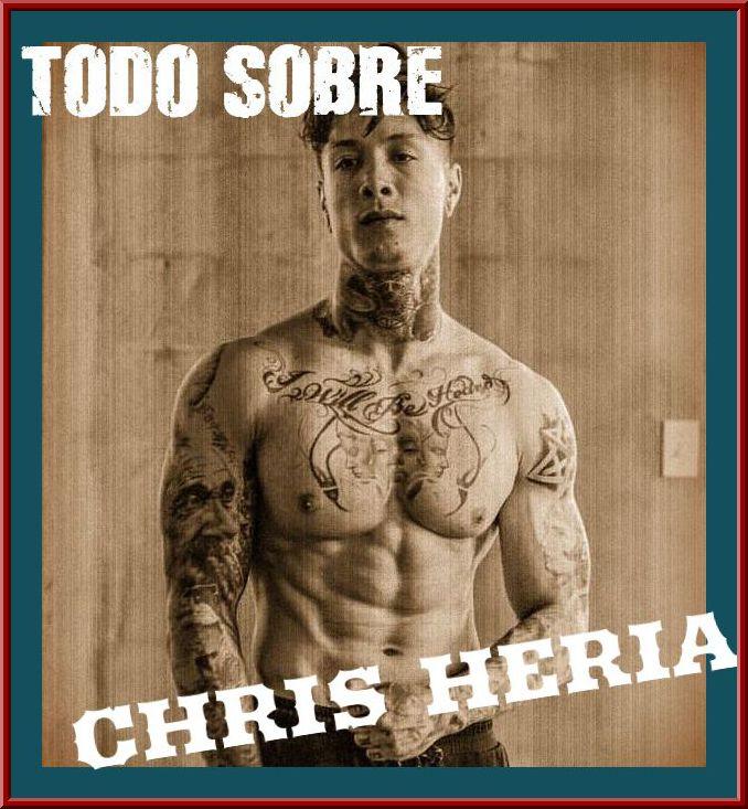Estatura, peso y más sobre Chris Heria de THENX