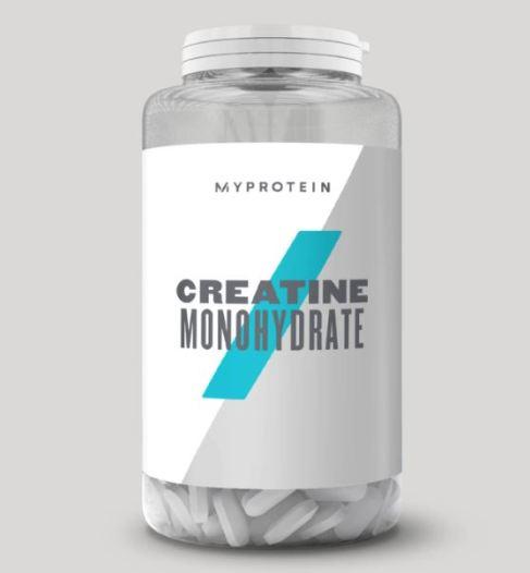 Creatina en cápsula myprotein para calistenia