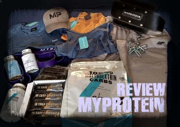 Suplementos y material de calistenia MyProtein