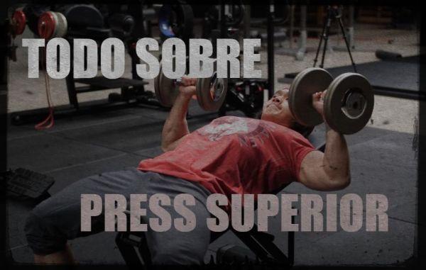 El press superior, buen ejercicio para pectorales
