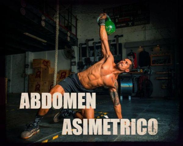 Causas y remedios abdominales torcidos o asimétricos