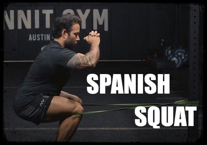 Sentadilla romana, spanish squat o sentadilla española. Todo sobre este gran ejercicio